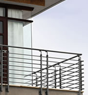 RAILINGS FOR BALCONIES AND MEZZANINES