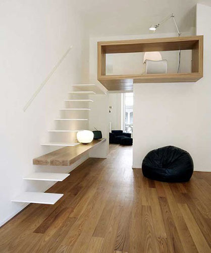 suspended design staircase
